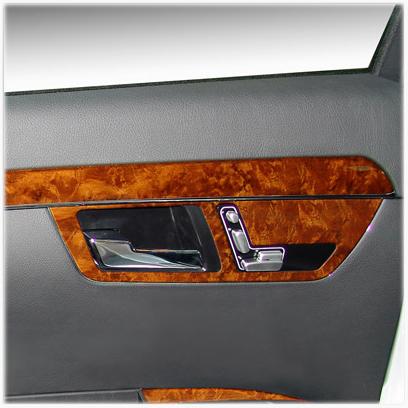 Sitzverstellblende vorne & hinten w221